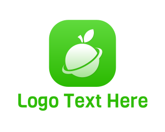Mobile Games - Fruit Planet App logo design