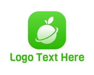 """Fruit Planet App"" by eightyLOGOS"