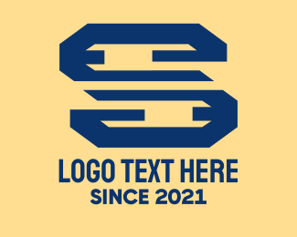 Digital Printing - Financial Letter S logo design