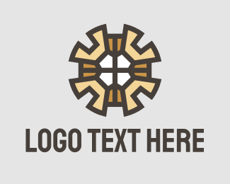 """""""Gear Wrench Pattern"""" by town"""