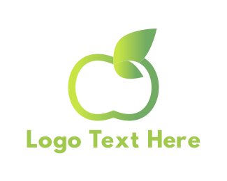 Apple - Green Apple logo design