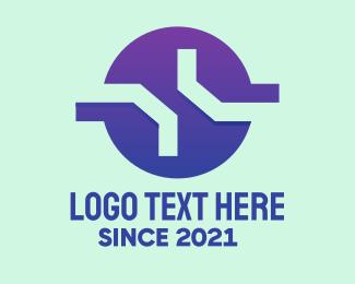 Company - Violet Tech Company  logo design