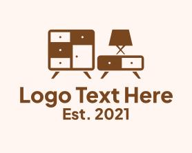 Interior - Interior Furnishing Store logo design