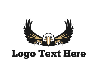 Baseball - American Eagle logo design