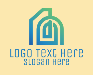 Architectural Firm - Abstract Building Design  logo design