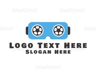 Soccer - Soccer VR logo design