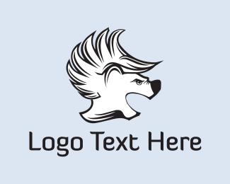 Punk - Punk Bear logo design
