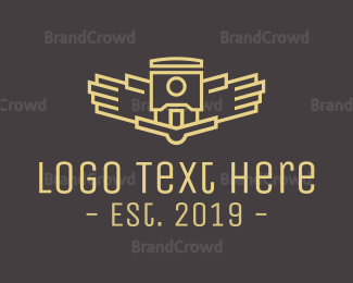 Abstract - Abstract Drone logo design