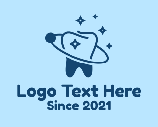 Dental - Blue Dental Planet  logo design