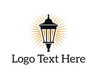 Illumination - Classic Lantern logo design