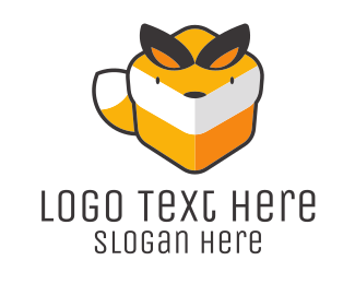 Fox - Box Fox logo design