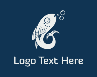 Fish & Bubbles Logo