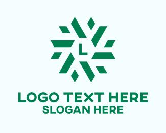Green Energy - Green Corporate Lettermark  logo design