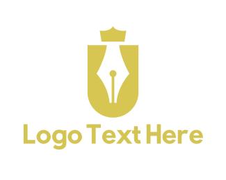 Letter U - Royal Letter U logo design