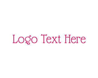 Traditional - Vintage & Pink logo design