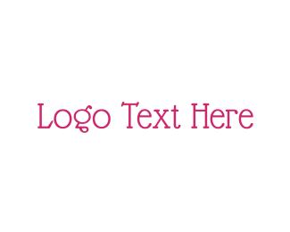 White And Pink - Vintage & Pink logo design