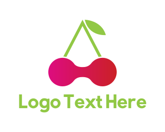 Pink Cherry - Cherry Tech logo design