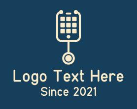 Mobile Phone Stethoscope Logo