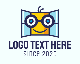 Home Maintenance - Window Mascot logo design