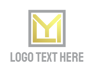 Yellow Square - Yellow Square MYL logo design