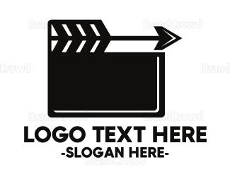 Actor - Arrow Movie logo design