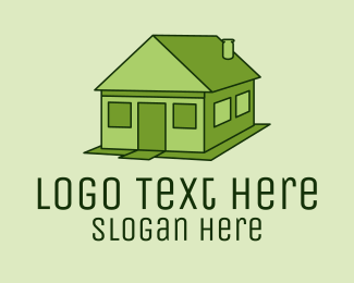 Property Investment - Green House Property  logo design