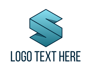 Accounting - Geometric Letter S logo design