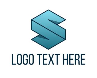 Accounting - Geometric Letter S logo design