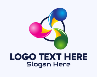 Business - Abstract Spiral Business logo design