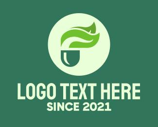 Medicinal - Green Natural Medicine logo design