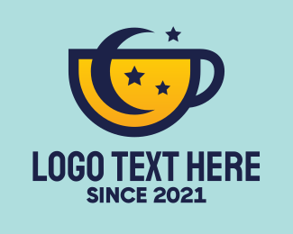 Hot Chocolate - Moon Star Cup logo design