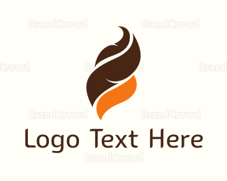 Chocolate - Chocolate & Orange logo design
