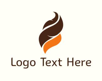 Chocolate - Chocolate & Orange logo design