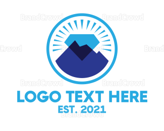 Mining - Diamond Mountain Mining logo design