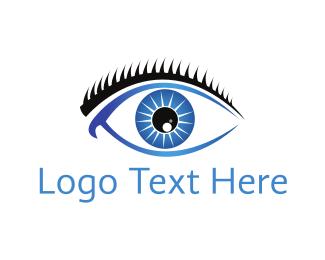 Ophthalmology - Blue Eye logo design