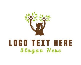Maternity - Family Tree logo design