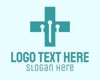 Medtech - Medical Technology Lab  logo design