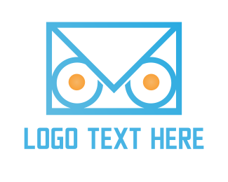 Mail - Owl Mail logo design