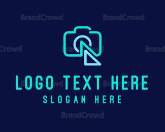 Photographer - Flash Camera logo design