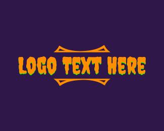 Wordmark - Halloween Wordmark logo design