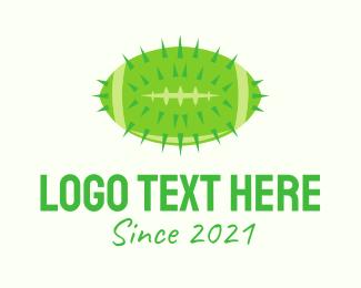 Football - Cactus Football logo design