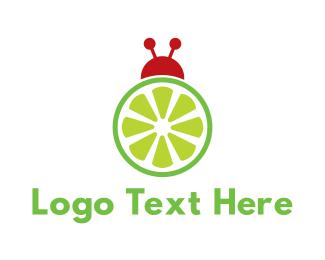 Bug - Citrus Bug logo design