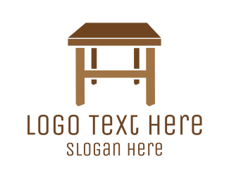 Desk - Furniture Table logo design