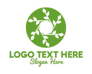 Journalist - Hexagon Leaf Plant logo design