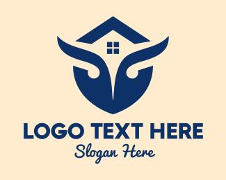 Property Management - Owl House logo design