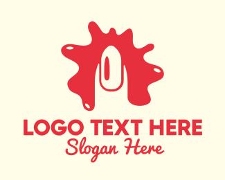Splash - Fingernail Splash logo design