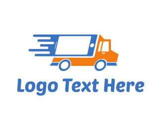Tractor - Tech Truck logo design