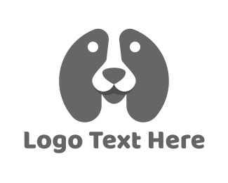 Grey - Grey Dog logo design