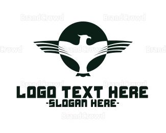 Post Office - Eagle Force  logo design