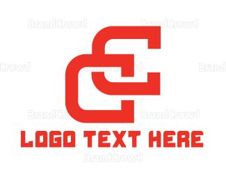 Double - Double C logo design